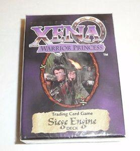 Xena-Warrior-Princess-Siege-Engine-Starter-Deck-TCG-Trading-Card-Game-1998-NEW
