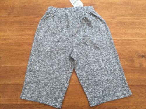 NEXT Girls Light Grey Marl 100/% Cotton Jersey Culottes BNWT