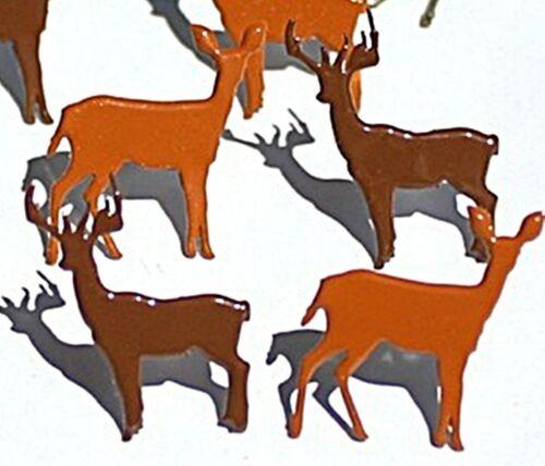 DEER BRADS Doe Christmas Animal Antler Wildlife Scrapbooking Card Making
