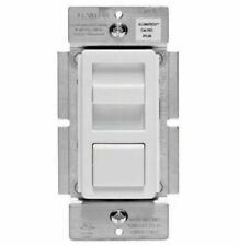 10 COOPER Slide Dimmer 600W Preset Feature Ivory LED Switch Decorator 6430V