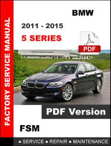 2011 bmw 528i repair manual