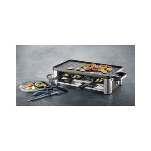 edelstahl WMF Lono für 8 Personen Raclette-Grill
