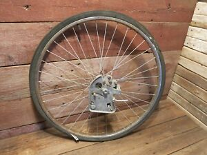 Vintage-RARE-26-034-Bicycle-Rear-WHEEL-Drum-Gear-Hub-Rim-Schwinn-Bike-Wheel