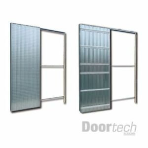 Controtelaio doortech by scrigno porte scorrevoli intonaco 60 70 80 90x210 cm ebay - Scrigno per porte scorrevoli ...