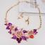Fashion-Bridal-Wedding-Rhinestone-Crystal-Necklace-Earrings-Jewelry-Set-Party thumbnail 78