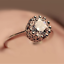 Vintage-Style-Micro-inlay-CZ-925-Sterling-Silver-Engagement-Solitaire-Ring-RS50 thumbnail 1