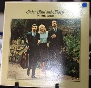 PETER PAUL AND MARY In The Wind Album Released 1963 Vinyl/Record  Collection US