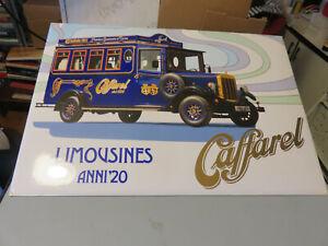 Exposition Publicité De Banc Caffarel Limousines Années 20 Jamais Ouvert Idéal