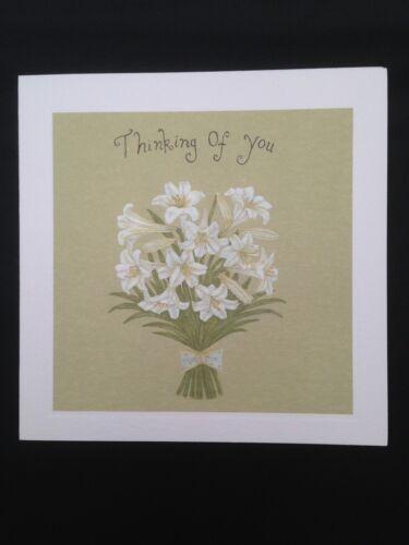 £1.85 inc p/&p Phoenix Trading Card /'Thinking of You/'///'Sympathy/' Card /& Envelope