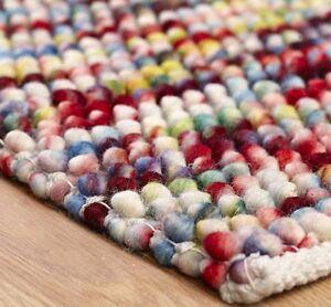 Sumi Chunky Bobble Rugs 100 Wool