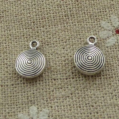 free ship 280 pieces tibetan silver nice charms 11x8mm #3719