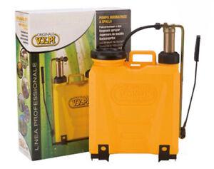 Pompa irroratrice zaino spalla pompante ottone ORIGINALE VOLPI 81 CG 12 litri