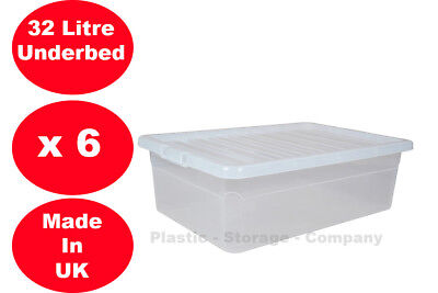 under bed 32 litre storage new made in uk
