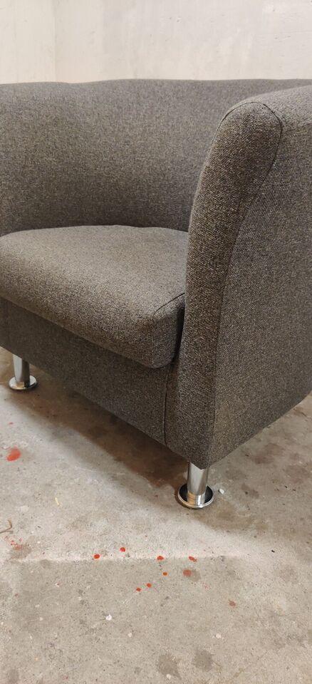 Sofa, stof, 1 pers.