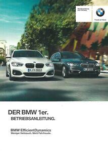 2015-BMW-1ER-F20-F21-BETRIEBSANLEITUNG-BORDBUCH-BEDIENUNGSANLEITUNG-BA-DEUTSCH