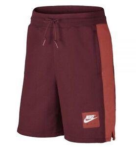 Men-s-Nike-Air-Sportswear-Fleece-Shorts-886052-677-Small-Large