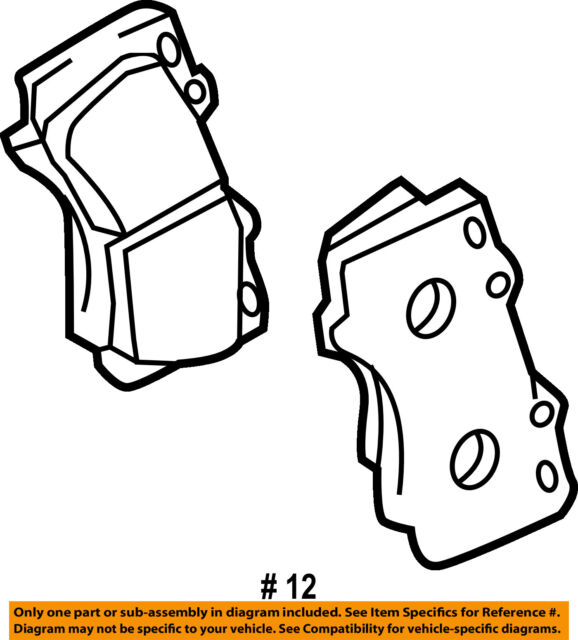 Toyota Oem 2016 Tacoma Front Disc Brake Pads 0446504090 For Sale