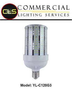 LED Corn Lamp Light 20//30//60//80//120//125 Watt Bulb E26 E39 Mogule
