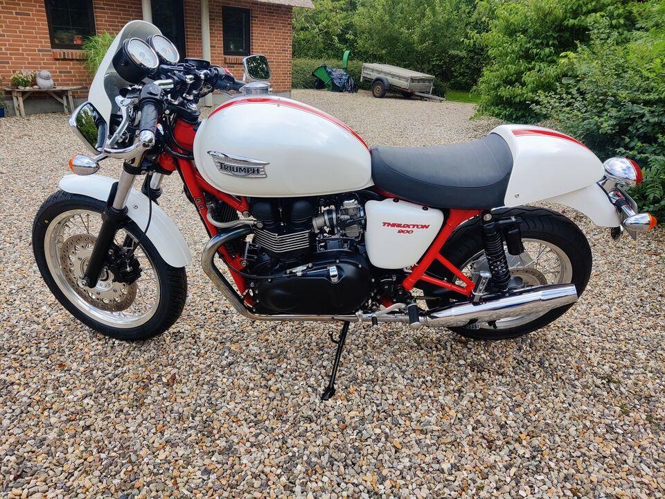 Triumph, Thruxton, 900 ccm