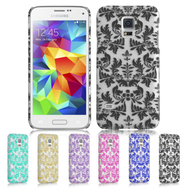 Baroque Pattern Vintage Slim Hard Back Case Cover  Samsung Galaxy S5 Mini *SALE*