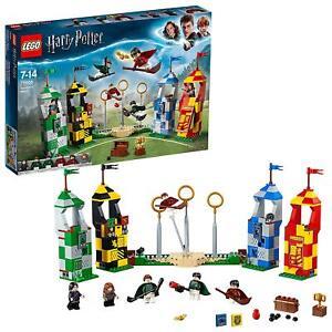 Jeux Quidditch 75956 Lego Sur Détails Harry Jouets Le De Match Construction Brics Potter bfgY67yv