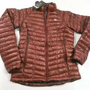 325-Women-039-s-Mountain-Hardwear-MetaTherm-EXS-Jacket-Size-Small-Brown-NWT