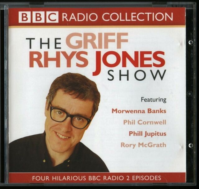 Griff Rhys Jones Show 2CD audiobook BBC radio comedy 4 episodes 1998-2001 NTNOCN