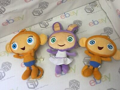 12 Talking Waybuloo Peek A Boo Lau Lau Purple Yojojo Orange Plush Toys X3 Ebay