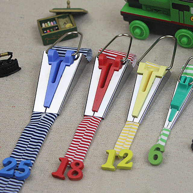 4 Size//set Fabric Bias Tape Maker Folder Kit DIY Sewing Quilting Binding Tool SG