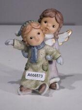 +#A006573 Goebel Archivmuster Nina & Marco / Limpke, 2 Engel auf Schlittschuhen