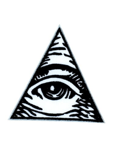 patch embroidered on eye annuit coeptis embroidery all seeing triangle horus