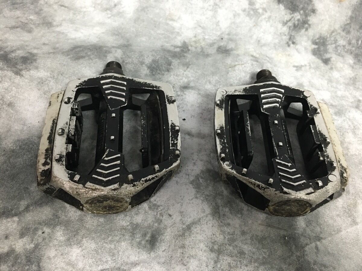 Shimano  Old School BMX Pedals 1980s 1 piece