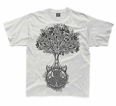 Pagan Wicca Celtic Skull Owl Hipster Women/'s T-Shirt