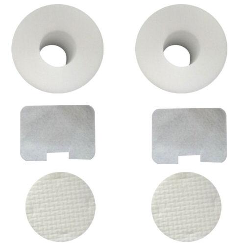 set of 2 Foam /& Felt Filter Set Fits Shark UV410 NV44 NV46 # XFF36 NV36 NV42