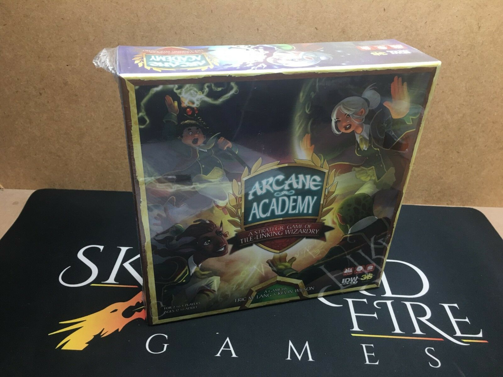 Arcane Academy Board Game - IDW Games (New and Sealed)