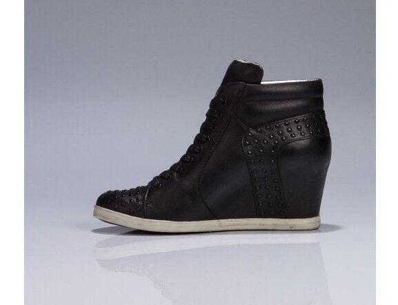 KOOLABURRA 'Kenny' Studded  genuine 8 leather Wedges Sz 8 genuine new fd3d23