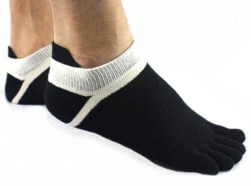 SUPER Calzini Toe Socks 2 PAIA Injinji stile a piedi nudi in esecuzione 5 dita