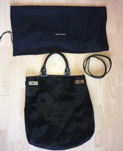 Sophie Rrp kortelange Slouch Hulme 695 Ponyskin tas riem met zwart tas £ lederen zqSMUpGV