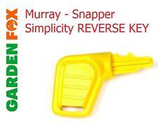 Genuine B&s Murray pargo simplicidad Amarillo Llave de presencia inversa 1726557SM 22