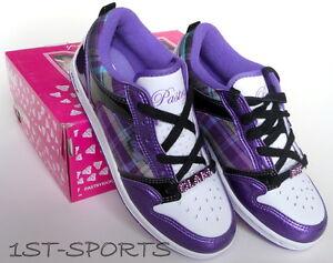 sports shoes 1a0ee 158e0 Dettagli su Le ragazze Scarpe da ginnastica, scarpe, Pasticceria Glam Pie  Berry a Quadri Ragazze Scarpe da ginnastica, scarpe UK 3- mostra il titolo  ...