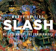 Slash - World On Fire (CD + T-Shirt M) (2014) original verpackt - Neuware
