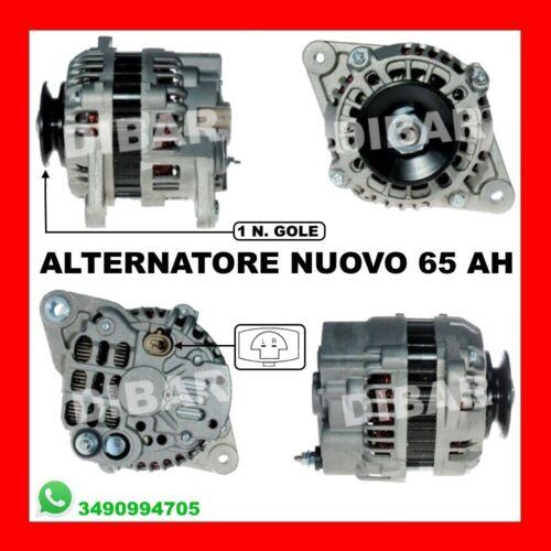 ALTERNATORE NUOVO CHEVROLET MATIZ 1.0 BI-FUEL KW49 CV67 DAL 2005 CODICE 96404263