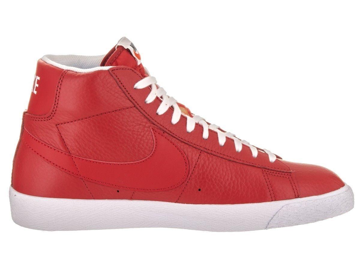 Nike Blazer Mid PRM Premium Skate Board Game Red White size 7.5 429988-604 sb