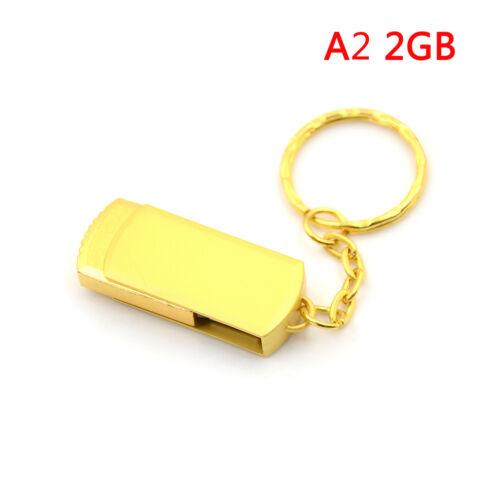 Gold metal key chain usb 3.0pen drive usb flash drive memory stick 4//8//16//32GBJB