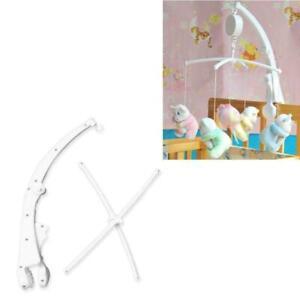 Baby Bed Hanging Rattles Toys Hanger Crib Mobile Bed Bell Toy Holder Arm Bracket