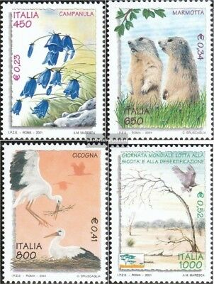 2019 Latest Design Italy 2756-2759 (complete.issue.) Unmounted Mint / Never Hinged 2001 Environment A Great Variety Of Goods