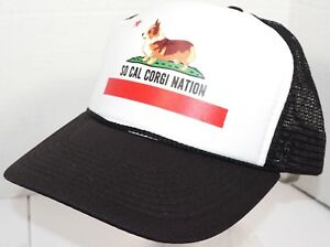 PEMBROKE WELSH SO CAL CORGI NATION BASEBALL CAP - CANINE THEME ... d222021c74b5