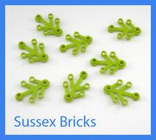 bendable Lego New Friends Liane Lime Green 16L Vines Plants X6 W// Ten Leaves