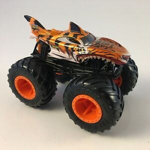 Hot Wheels Monster Jam Truck 1 64 Tiger Shark Euc Ebay