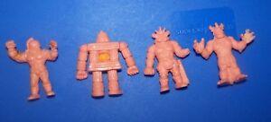 M-U-S-C-L-E-Men-vintage-Mattel-Tan-Color-figure-lot-of-4-DAMAGED-A-3
